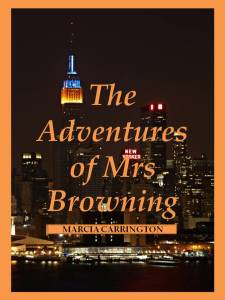 THE ADVENTURES OF MRS BROWNING cover